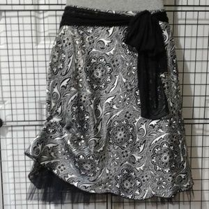 Party/Cocktail Skirt with Sash & Petticoat.NWT